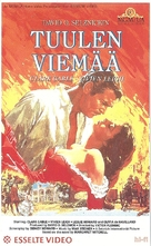 Gone with the Wind - Finnish VHS movie cover (xs thumbnail)