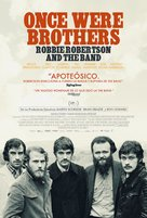 Once Were Brothers: Robbie Robertson and The Band - Spanish Movie Poster (xs thumbnail)