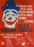 The Big Circus - Danish Movie Poster (xs thumbnail)