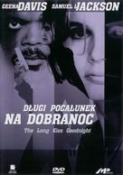 The Long Kiss Goodnight - Polish Movie Cover (xs thumbnail)