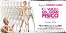 Ci vuole un gran fisico - Italian Movie Poster (xs thumbnail)