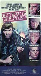 Geheimcode: Wildgänse - VHS cover (xs thumbnail)