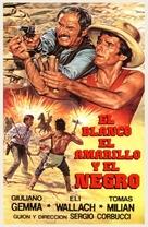 Il bianco, il giallo, il nero - Spanish Movie Cover (xs thumbnail)