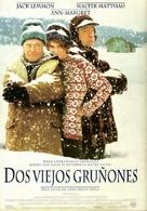 Grumpy Old Men - Spanish Video release movie poster (xs thumbnail)