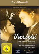 Varieté - German Blu-Ray cover (xs thumbnail)