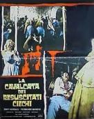 El ataque de los muertos sin ojos - Italian Movie Poster (xs thumbnail)