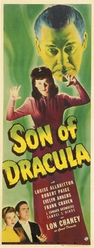 Son of Dracula - Theatrical poster (xs thumbnail)