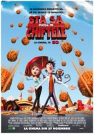 Cloudy with a Chance of Meatballs - Romanian Movie Poster (xs thumbnail)