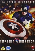 Captain America - British DVD movie cover (xs thumbnail)