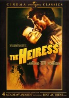 The Heiress - DVD cover (xs thumbnail)
