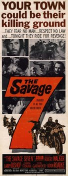 The Savage Seven - Movie Poster (xs thumbnail)