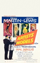 Artists and Models - Theatrical poster (xs thumbnail)