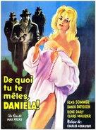 Zarte Haut in schwarzer Seide - French Movie Poster (xs thumbnail)