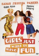Girls Just Want to Have Fun - Swedish DVD cover (xs thumbnail)