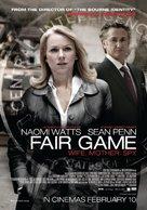 Fair Game - New Zealand Movie Poster (xs thumbnail)