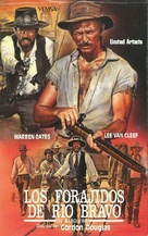 Barquero - Spanish VHS movie cover (xs thumbnail)