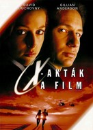 The X Files - Hungarian Movie Cover (xs thumbnail)