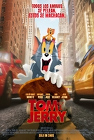 Tom and Jerry - Venezuelan Movie Poster (xs thumbnail)
