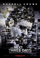 The Next Three Days - Canadian Movie Poster (xs thumbnail)