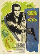 Dr. No - French Theatrical poster (xs thumbnail)