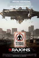 District 9 - Latvian Movie Poster (xs thumbnail)