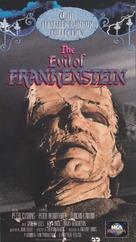 The Evil of Frankenstein - VHS cover (xs thumbnail)