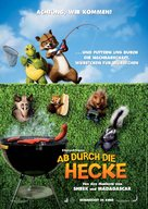 Over the Hedge - German Movie Poster (xs thumbnail)