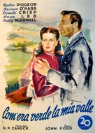 How Green Was My Valley - Italian Movie Poster (xs thumbnail)