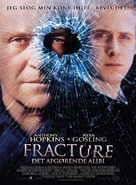 Fracture - Danish Movie Poster (xs thumbnail)