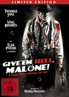 Give 'em Hell, Malone - German Movie Cover (xs thumbnail)