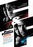 Fast & Furious - German Movie Poster (xs thumbnail)