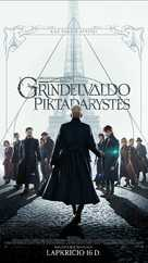Fantastic Beasts: The Crimes of Grindelwald - Lithuanian Movie Poster (xs thumbnail)