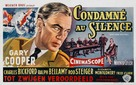The Court-Martial of Billy Mitchell - Belgian Movie Poster (xs thumbnail)