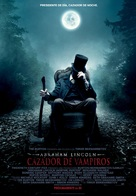 Abraham Lincoln: Vampire Hunter - Spanish Movie Poster (xs thumbnail)