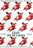Leon the Pig Farmer - German Movie Poster (xs thumbnail)