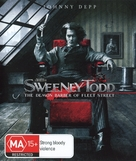 Sweeney Todd: The Demon Barber of Fleet Street - Australian Movie Cover (xs thumbnail)