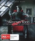Sweeney Todd: The Demon Barber of Fleet Street - Australian Movie Cover (xs thumbnail)
