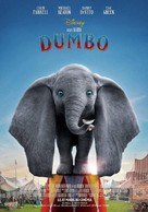 Dumbo - French Movie Poster (xs thumbnail)