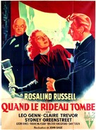 The Velvet Touch - French Movie Poster (xs thumbnail)