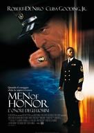 Men Of Honor - Italian Movie Poster (xs thumbnail)