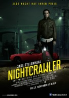 Nightcrawler - German Movie Poster (xs thumbnail)