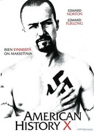 American History X - Finnish Movie Cover (xs thumbnail)