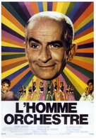 L'homme orchestre - French Movie Poster (xs thumbnail)