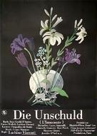 L'innocente - German Movie Poster (xs thumbnail)