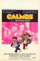 Calmos - Belgian Movie Poster (xs thumbnail)