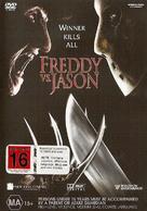 Freddy vs. Jason - New Zealand DVD movie cover (xs thumbnail)