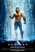 Aquaman - Icelandic Movie Poster (xs thumbnail)