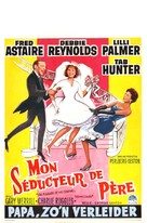 The Pleasure of His Company - Belgian Movie Poster (xs thumbnail)