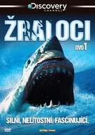 Sharks 3D - Czech DVD cover (xs thumbnail)