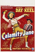 Calamity Jane - Belgian Movie Poster (xs thumbnail)